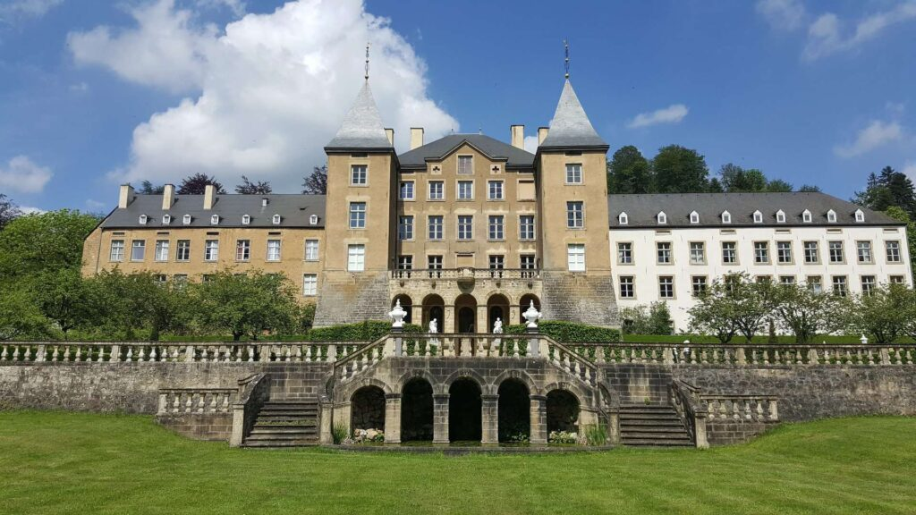 Kasteel Ansembourg in Luxembourg