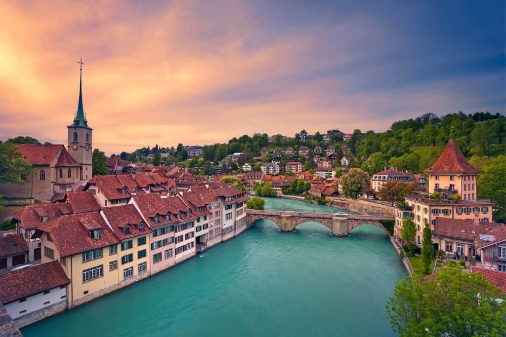 Het parlementsgebouw van Bern is ook echt een mooie bezienswaardigheid